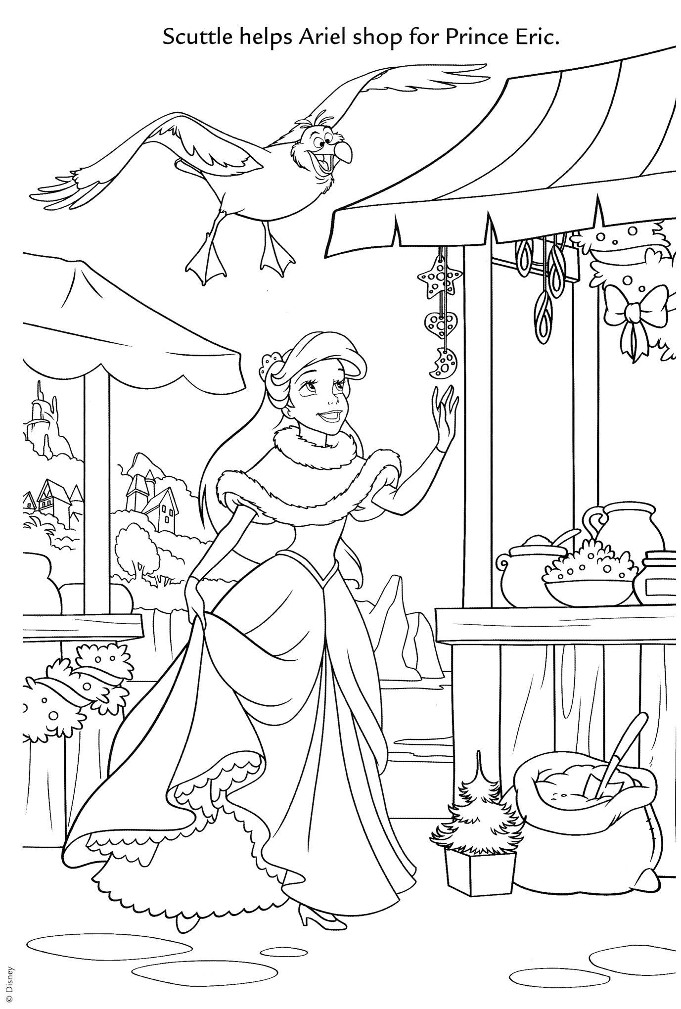 Oasidelleanime Minisiti Colorare Disney Princess