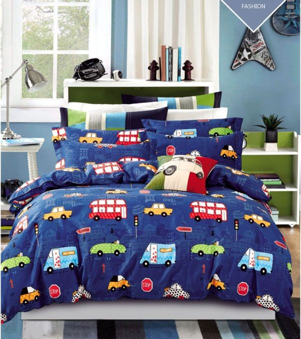 Boy Bedding Sets Queen Size Cars