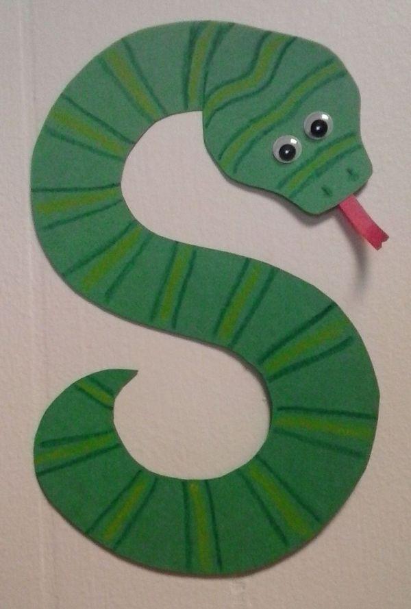 Preschool Letter Snake Alphabet Letters And