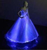 Light Up Evening Dress Met Gala Gown Glow-in-the-dark ...