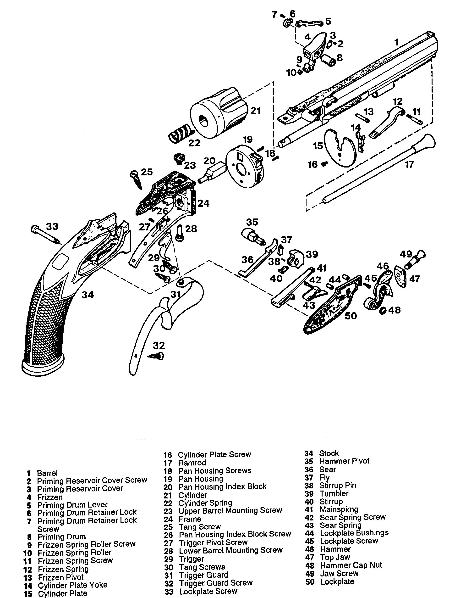 Blueprint Flint Pistol
