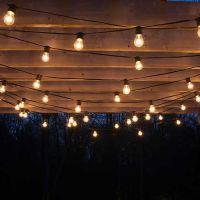 How to Plan and Hang Patio Lights   Patio lighting ...