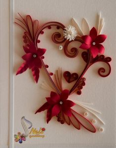 also hearts on  stick set of quilling too cute and cupcake toppers rh pinterest