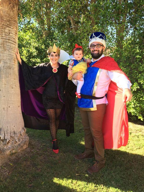 Diy Halloween Costume. Snow White Prince Charming And