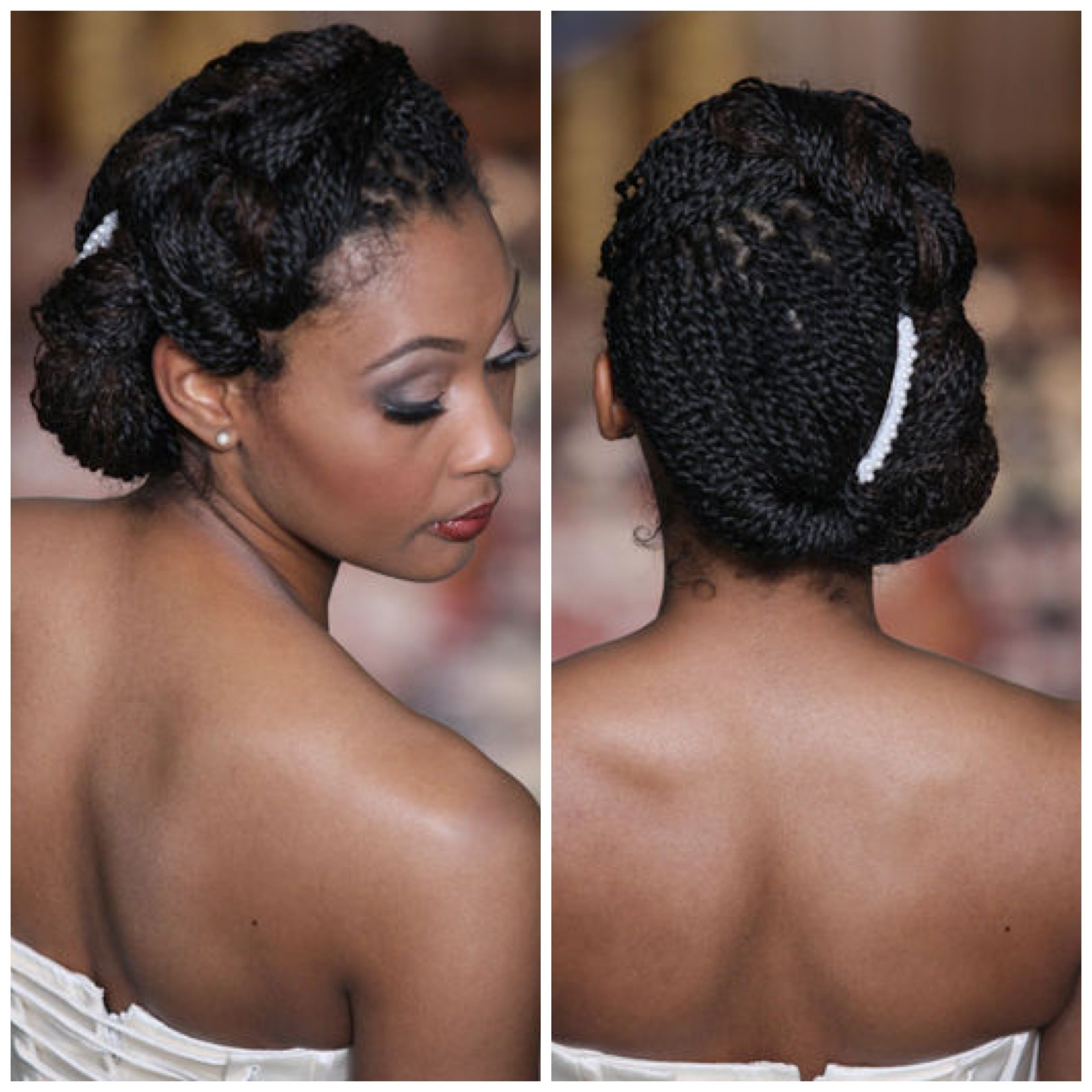 Inspiration For Natural Hair Brides Braided Wedding Hairstyles