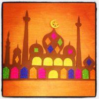 Ramadan decoration craft mosque | Ramadan | Pinterest ...
