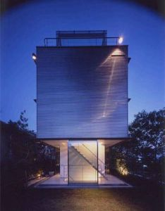Takaharu tezuka  japanese architect who was born and build many conceptual projects since than wall less house is one of them it   three store bui also by architects design pinterest rh