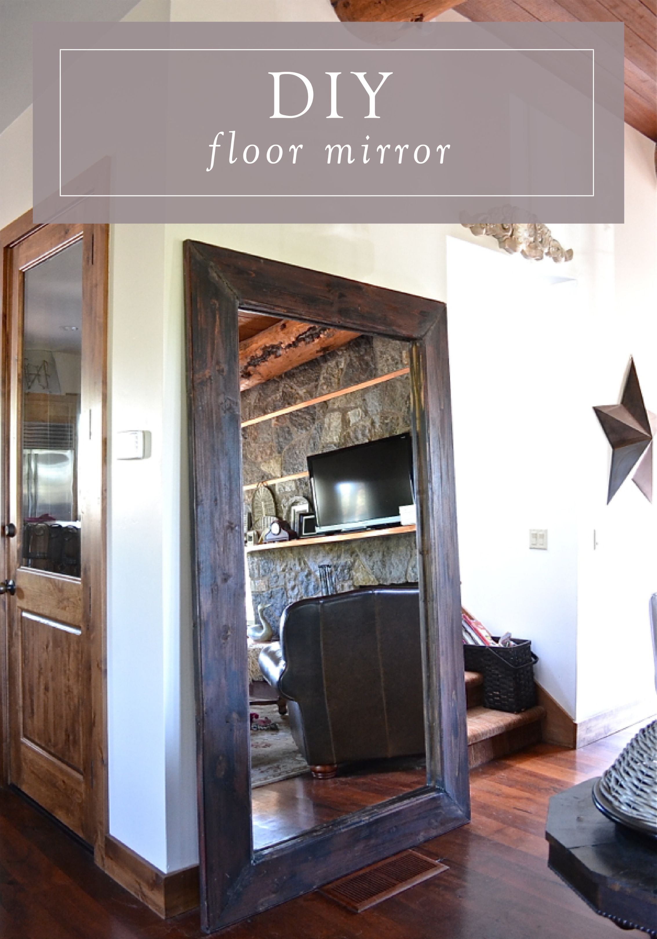 Floor Mirrors  Rustic mirrors Floor mirror and Ceilings