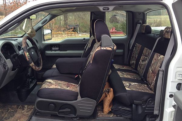 2017 Ford F 150 Custom Seat Covers Leather Camo Carid