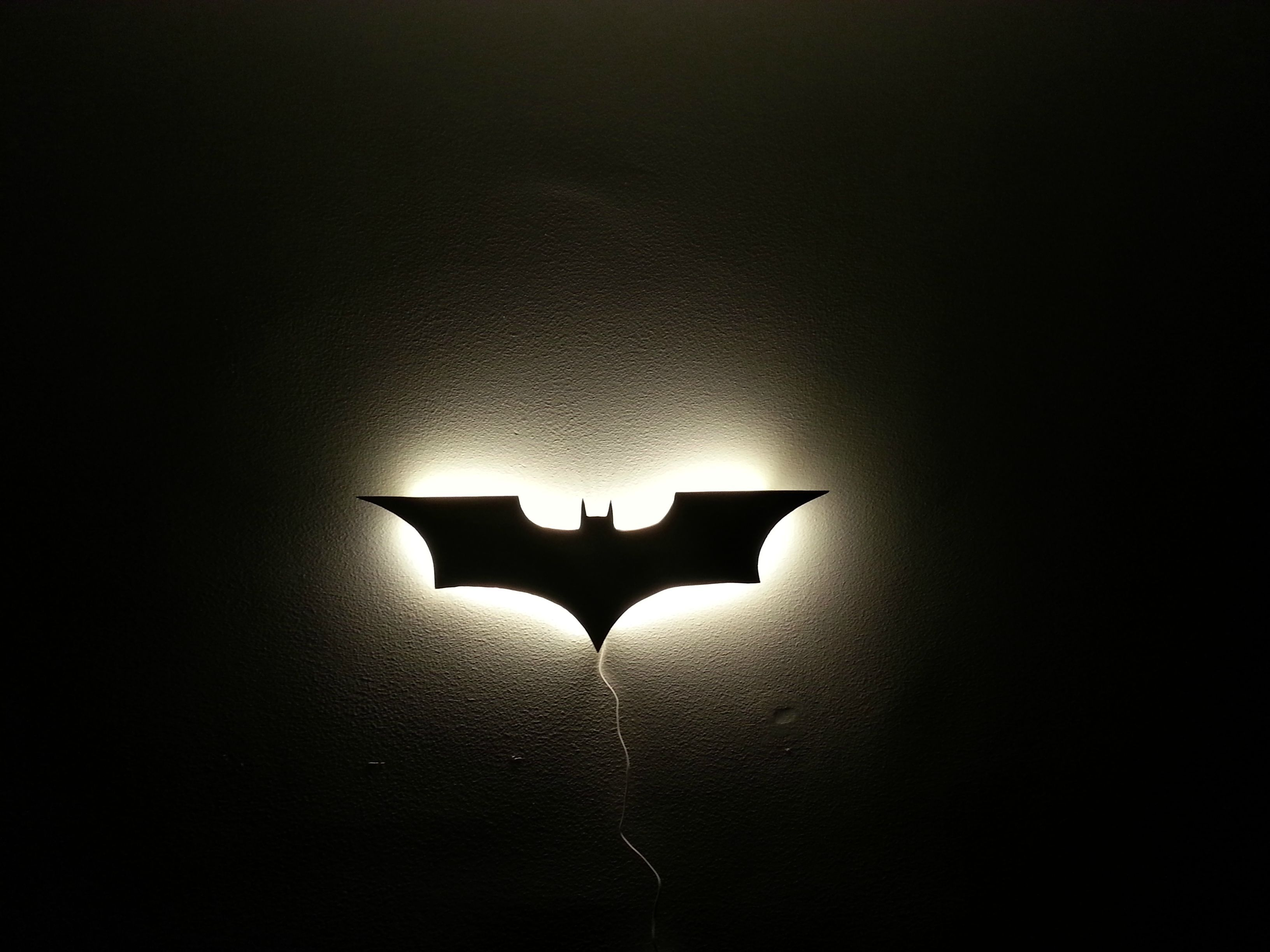 My own Batman wall