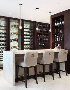 stunning home bar designs also best images on pinterest rh in