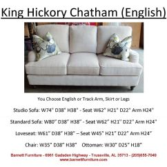 Leather Possibilities Track Arm Sofa Set Designs With Price In Pune King Hickory Chatham English Turned Leg You