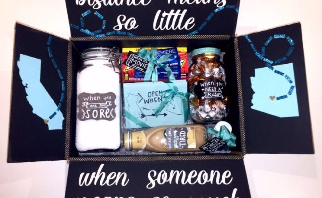 Long Distance Relationship Box Pinteres