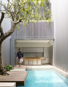 Architects ong  pte ltd location blair road singapore design team diego molina and maria arango interior furnishing yps house area also swimming pool isabelle choi degrieck ik vind dat je moet rh pinterest