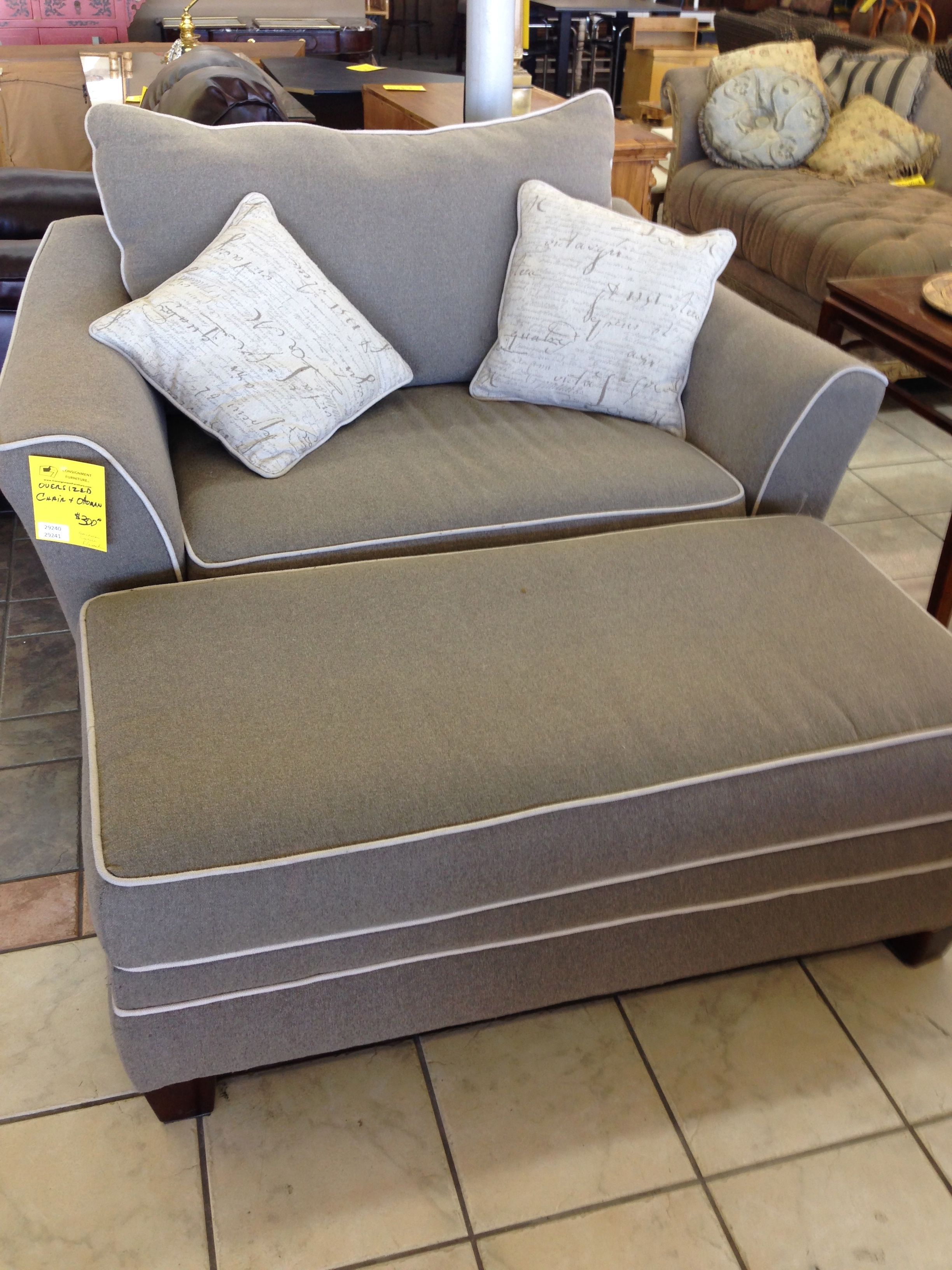 oversized living room chair knoll life replacement parts stylish grey fabric chairs with rectangle
