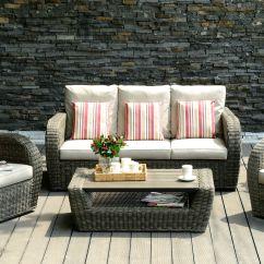 Rattan Sofa Set Uk Karlstad Black Leather 45 Off Kopipi By Lifestyle Garden And