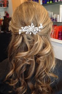 Vintage inspired Bridal hair accessories, Rhinestone ...