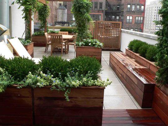 Urban Terrace Garden Ideas Urban Terrace Garden For Modern