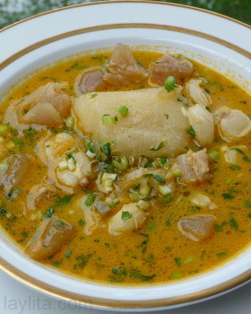 caldo de pata recipe or cow feet soup laylita s recipes