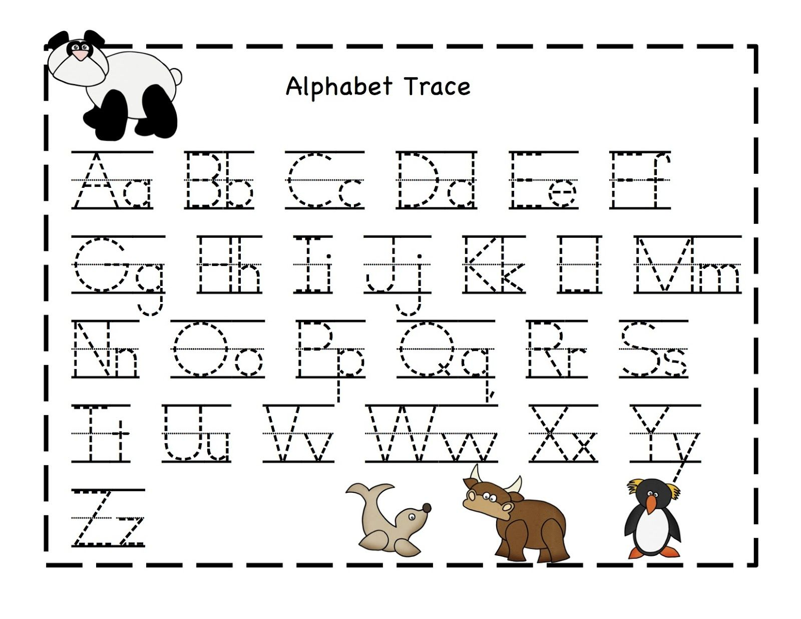 Alphabet Printables Sheets