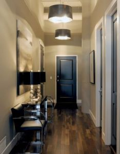 Painting your interior doors black instantly makes space look more expensive even cheap hollow also rh pinterest