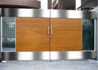 modern boundary wall designs with gate - Google Search ...