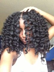 twist outs natural