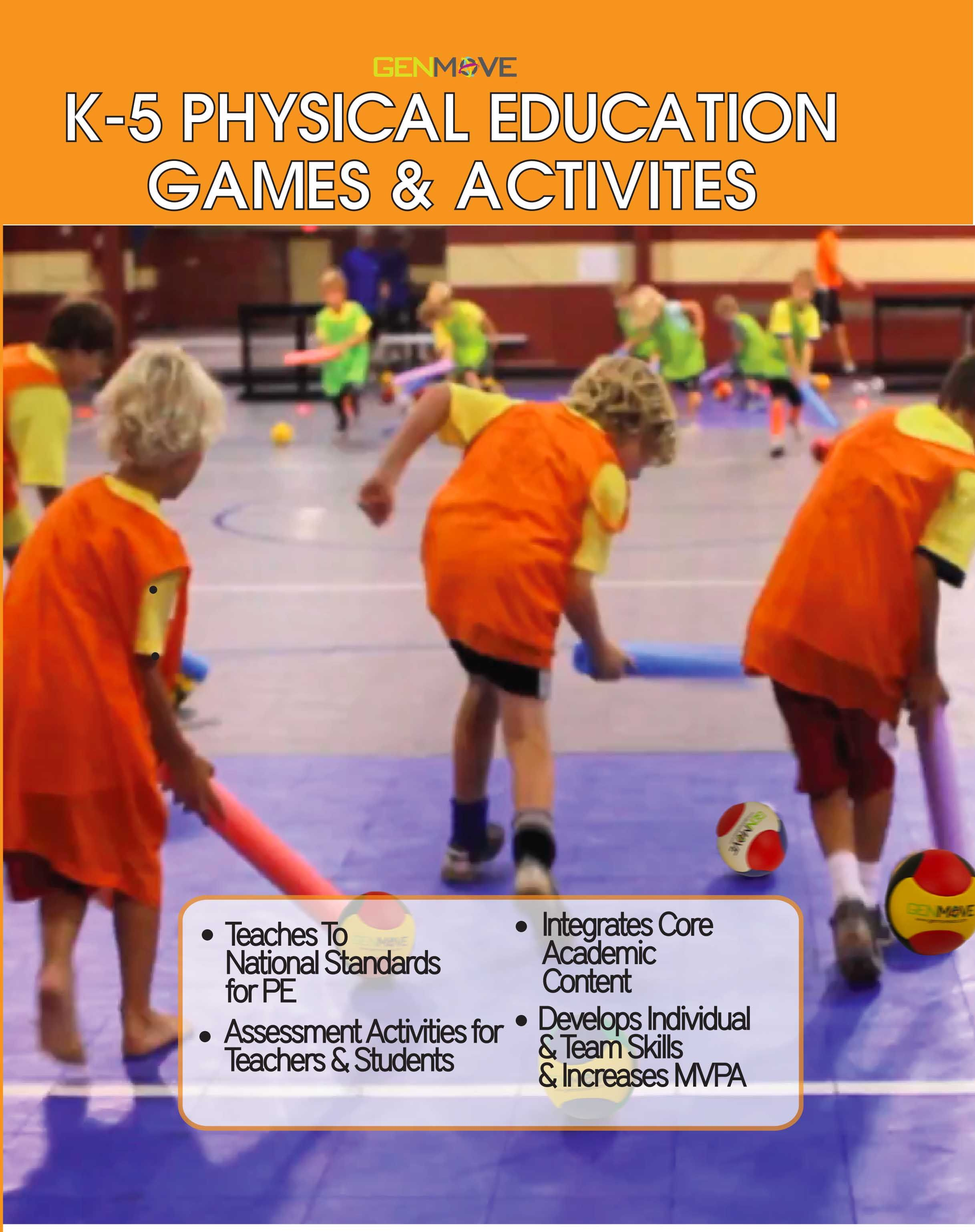 K 5 Physical Education Activity Games Amp Activities Fun