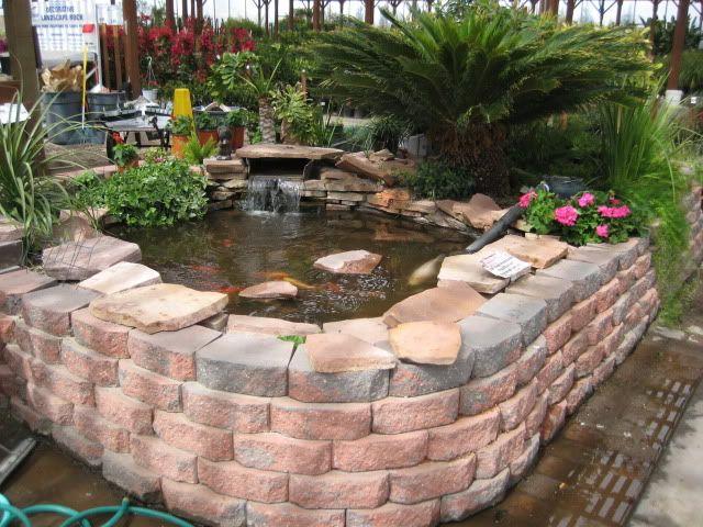 Above Ground Pond Is Just Stunning! Garden Ideas Pinterest