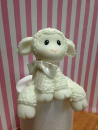 Lamb Cake topper | My sugar creations | Pinterest | Lamb ...