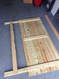 DIY Rustic Wood Headboard | Headboard | Pinterest | Rustic ...