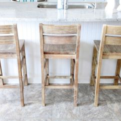 Kitchen Island Chairs With Backs Modular Outdoor Kitchens We Settled On These