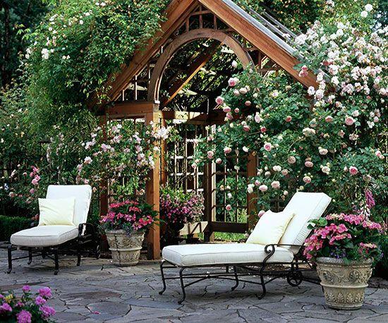backyard landscaping ideas stone