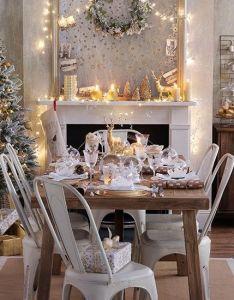 Esszimmer wohnideen mobel dekoration decoration living idea interiors home dining room gold und wei  also rh pinterest