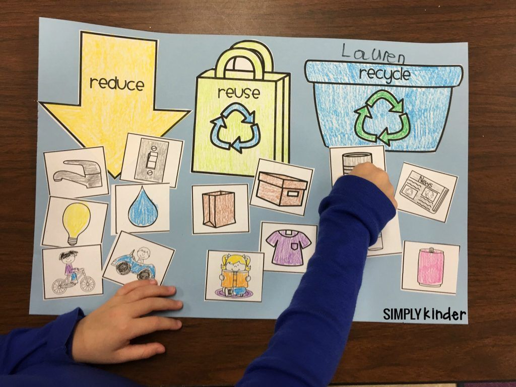 Free Printable Recycling Sort Used 3 Ways