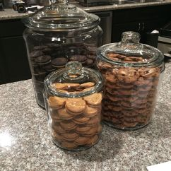 Decorative Glass Jars For Kitchen Cheap Cabinets Sale Khloe Kardashian 39s Copy Cat Cookie Loved These
