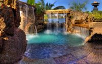 Lagoon, Luxury Pool, Backyard Pool, Pool | Dream house ...