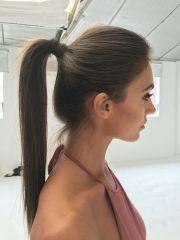 sleek ponytail hairstyles fade