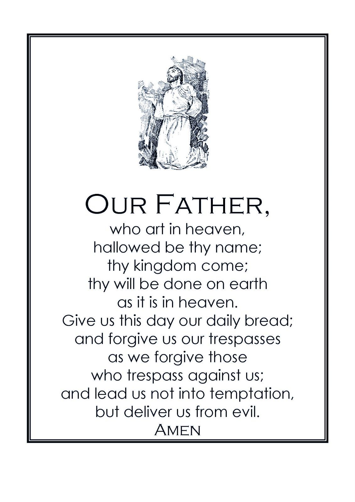 Our Father Prayer