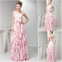 ruffle prom dress - Google Search Not my favorite color ...