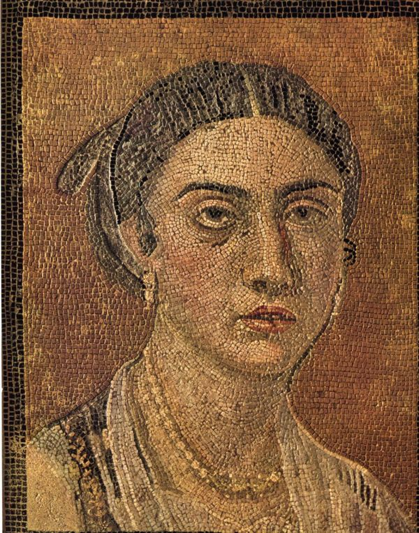Roman Mosaic Portrait
