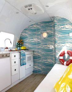 Awesome airstream camper interior  design sponge also beach theme rh pinterest