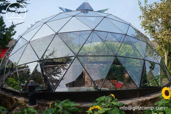 Glass Dome Green House For Growing Plant