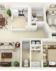 two bedroom apartment house plans also rh pinterest