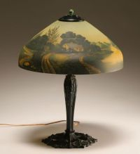 Antique Glass Lamp Shades For Table Lamps  Design And