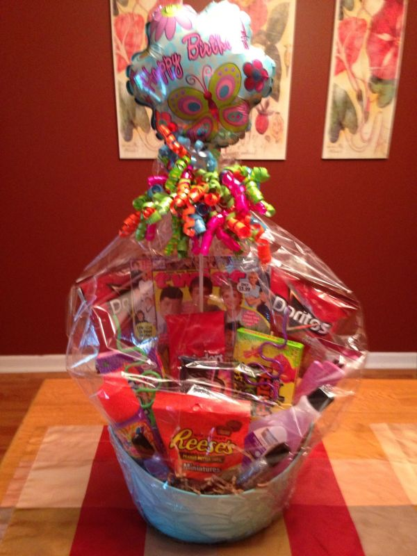 Teen Girl Birthday Gift Baskets