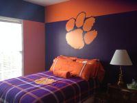 Clemson bedroom | tigers | Pinterest | Bedrooms, Clemson ...