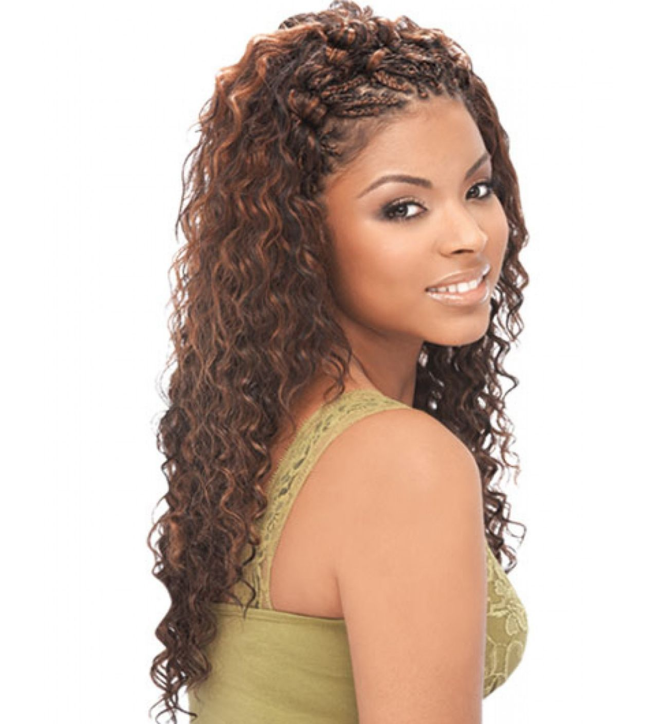 Sew In With Deep Wave Wet And Wavy Human Hair Transition