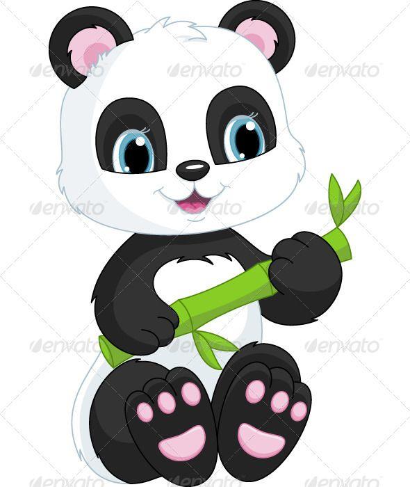 7 Gambar Animasi Panda Lucu Untuk Wallpaper  Gambar