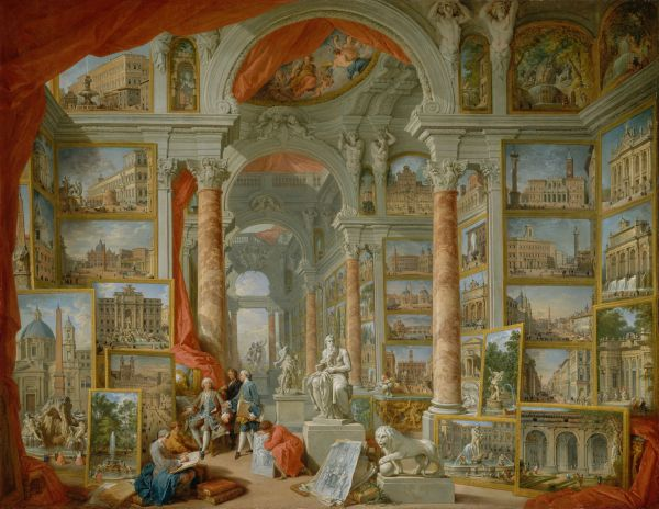 Giovanni Paolo Pannini 1692 1765 With